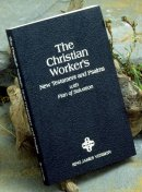 KJV Christian Worker's New Testament and Psalms: Paperback