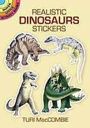 Realistic Dinosaurs Stickers