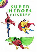 Super Heroes Stickers