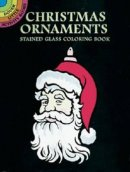 Christmas Ornaments Stained Glass Colouring Book