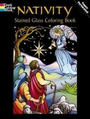 Nativity Stained Glass Colouring Book