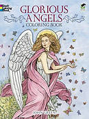 Glorious Angels Coloring Book