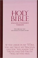 ESV Anglicised Bonded Leather Bible