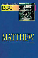 Matthew : Vol 17 :Basic Bible Commentary Vol. 17