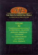 The New Interpreter's Bible : Vol 11 : 2 Corinthians - Philemon