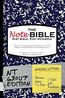 The Notebible: Group Edition - New Testament General Letters