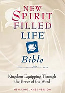NKJV New Spirit Filled Life Bible: Black, Bonded Leather, Thumb Index,
