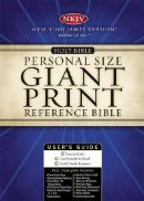 NKJV Giant Print Personal Size Reference Bible: Black, Leatherflex