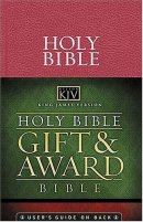 KJV Gift and Award Bible: Pink, Leatherflex