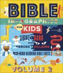 Bible Infographics for Kids Vol. 2: Angels and Demons, Heroes and Villains, and How to Outrun a Chariot