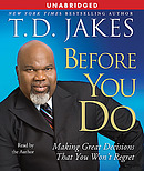 Before You Do - Audio CD