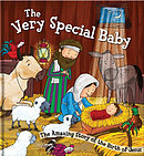 Square Cased Bible Story Book - the Very Special Baby