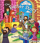The Square Cased Bible Story Book - The Easter Story