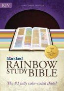 KJV Rainbow Study Bible Bonded Leather Brown
