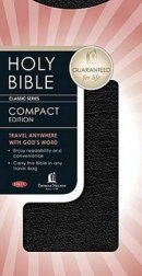 NKJV Bible Classic Companion Chequebook Size Bonded Leather Black