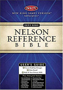 NKJV Reference Bible: Black, Bonded Leather, Thumb Index