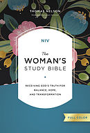 NIV, The Woman's Study Bible, Hardcover, Full-Color