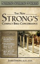 New Strongs Compact Bible Concordance Super Saver