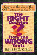 Right Doctrine From The Wrong Texts Pb