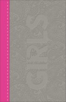 CSB Study Bible For Girls, Pewter/Pink, Paisley Design