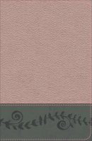 KJV Study Bible for Girls Pink Pearl/Gray, Vine Design Leathertouch