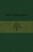 Tlv Personal Size Giant Print Reference, Holy Scriptures, Grove/Olive Leathertouch