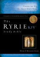 KJV Ryrie Study Bible: Black, Bonded Leather, Thumb Index
