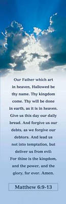 Lord's Prayer Adult Bookmarks Pack of 25