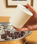 Button Release Communion Cup Filler