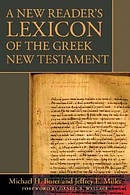 New Readers Lexicon Of The Greek Nt Hb