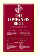 KJV Companion Bible : Black, Genuine Leather