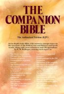 KJV Companion Bible: Black, Genuine Leather