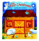 First Christmas Book And Playset Boardbk