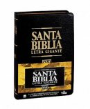 NVI Santa Biblia Spanish Bible Giant Print Hardback Black Thumb Index