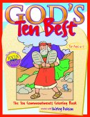 Gods Ten Best Colouring Book Pb
