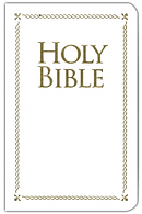 KJV Special Occasion Edition Bible White Bonded Leather