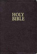 KJV Giant Print Bible: Burgundy, Bonded Leather,