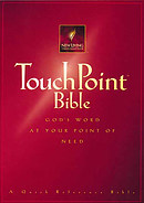 NLT Touchpoint Bible: Paperback