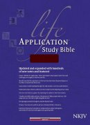 NKJV Life Application Study Bible: Burgundy, Bonded Leather