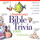 J. Stephen Langs Bible Trivia 1999 Cal