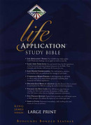 KJV Life Application Study Bible Large Print
