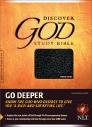 NLT Discover God Study Bible: Black, Bonded Leather