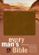 NLT Every Mans Bible Imitation Leather Tan