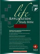 NLT Life Application Study Bible: Burgundy, Imitation Leather