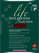 NLT Life Application Study Bible: Burgundy, Bonded Leather, Thumb Index
