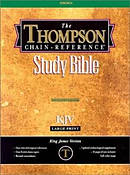 Thompson Chain Reference Large Print Bible