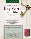NASB Key Word Study Bible: Burgundy, Bonded Leather