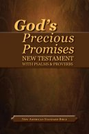 NASB Gods Precious Promises New Testament Bible: Black, Bonded Leather