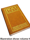 KJV Large Print Edition New Testament: Hardback Vol 4