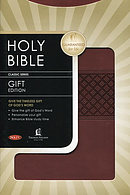 NKJV Classic Gift Bible: Brown, Imitation Leather
